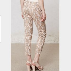 Cartonnier Charlie Ankle Gold Textured Pants